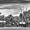 Dry Dock - St. Helena Shrimp Boat by Scott Hansen