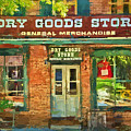 Dry Goods by Paul W Faust -  Impressions of Light