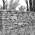 Dry Stone Wall by Ed Einboden