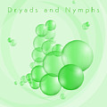 Dryads And Nymphs Bubbles by Alain De Maximy