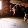 Drying Herbs In Attic by Samiksa Art