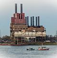 Dte Power Plant  by Grace Grogan