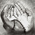 Dua -hands Of Faith No. Six by Dale Arends