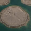 Dubai World Islands In Dubai, Uae by Ivan Batinic