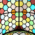 Dublin Art Deco Stained Glass by KG Thienemann