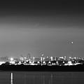 Dublin Skyline Glow by Robert Phelan