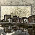 Dublin Skyline Mapped by Sharon Popek