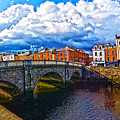 Dublin's Fairytales Around Grattan Bridge 2 by Alex Art and Photo