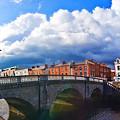 Dublin's Fairytales Around Grattan Bridge V2 by Alex Art and Photo