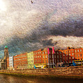 Dublin's Fairytales Around  River Liffey 2 by Alex Art and Photo