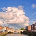 Dublin's Fairytales Around  River Liffey by Alex Art and Photo