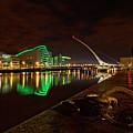 Dublin's Samuel Beckett Bridge At Night by Craig Fildes
