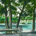 Dubois Park Lagoon by Jean Pacheco Ravinski