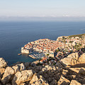 Dubrovnik And The Adriatic Coast In Croatia by Didier Marti