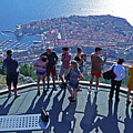 Dubrovnik Cable Car Viewpoint by Phil Banks