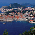 Dubrovnik Croatia by Don Wolf