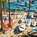 Dubrovnik Croatia - Sea Of Boats by Russell Mancuso