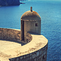 Dubrovnik Fortress Wall Tower by Sandra Rugina