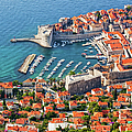 Dubrovnik From Above by Artur Bogacki