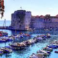 Dubrovnik Harbour by Lance Sheridan-Peel