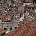 Dubrovnik Rooftops #3 by Stuart Litoff