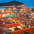 Dubrovnik Rooftops by Inge Johnsson