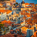 Dubrovnik Sunset by Inge Johnsson