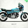 Ducati 860 Gt 1975 by Mark Rogan