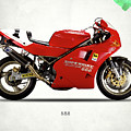 Ducati 888 by Mark Rogan