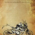 Ducati Monster.for Some Theres Therapy, For The Rest Of Us Theres Motorcycles by Drawspots Illustrations