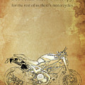 Ducati Motorcycle Quote by Drawspots Illustrations