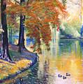 Duck Pond by David Lloyd Glover