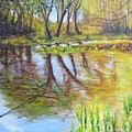 Duck Pond I by Lizzy Forrester