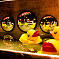 Ducky Reflections by Toni Hopper