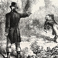 Duel Between Burr And Hamilton by American School