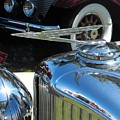Duesenberg Hood Ornament  by Neil Zimmerman