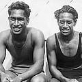 Duke And Sam Kahanamoku by Underwood Archives