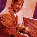 Duke Ellington by David Lloyd Glover