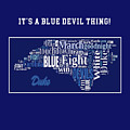 Duke University Fight Song Products by Paulette B Wright