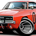 Dukes Of Hazzard General Lee by Maddmax