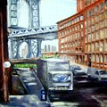 Dumbo Bridge by Sandy Ryan