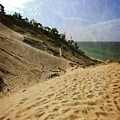 Dune And Blue Sky 2.0 by Michelle Calkins