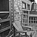 Dune Shack Deck by Marisa Geraghty Photography