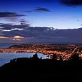 Dunedin By Dusk by Nicholas Blackwell