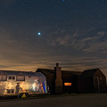 Dungeness House And Airstream by David Attenborough