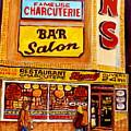 Dunn's Restaurant Montreal by Carole Spandau