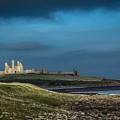 Dunstanburgh Castle In Northumberland by Philip Pound