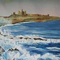 Dunstanburgh Castle by John Cox