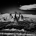 Dunstanburgh Castle Ruins by Nigel Dudson