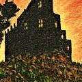 Duntrune Castle Argyll Scotland by Allison Constantino